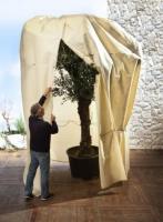 """Kübelpflanzensack """"Mammut"""" - Wintervlies - H 360 x B 250 cm - Ø 1,60 cm"""